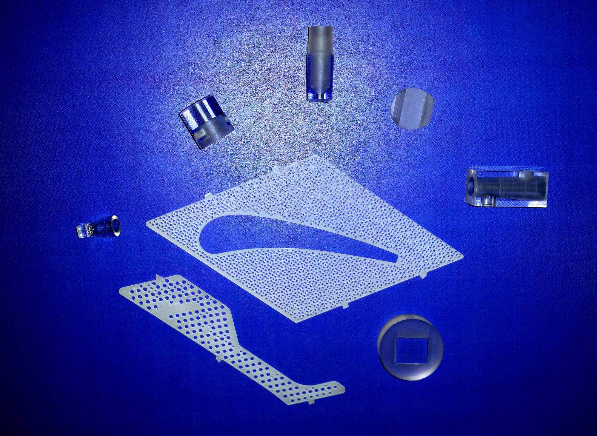 CNC Machining of Glass or Quartz Parts